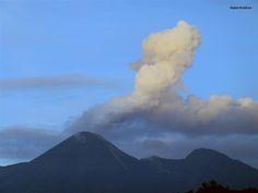 Volcán Reventador, Sucumbíos.