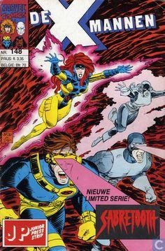 Strips - X-Men - De X-mannen 148