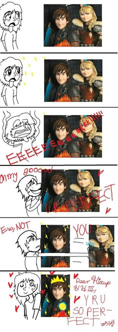 My reaction to the newest HTTYD 2 pic by Sonnikufan4ever