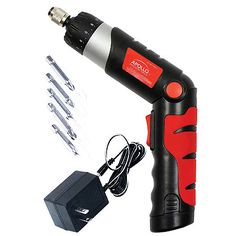 (click twice for updated pricing and more info) Apollo Tools - 4.8 Volt Rechargeable Cordless Screwdriver #rechargeable_cordless_screwdriver http://www.plainandsimpledeals.com/prod.php?node=34735=Apollo_Tools_-_4.8_Volt_Rechargeable_Cordless_Screwdriver_-_DT-1035#