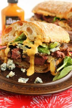 Grilled Beef Tenderloin Sandwich with Spicy Steakhouse Aioli.