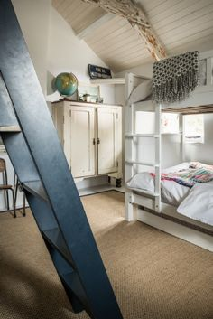 The bunk room is available for one extra child