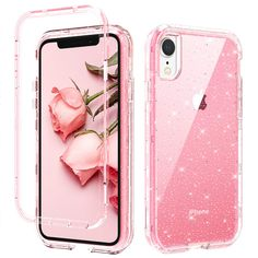 Ipod Touch Cases, Bling Phone Cases, Iphone Phone Cases, Friends Phone Case, Cute Headphones, Girl Cases, Cute Cases, Pink Glitter, Samsung Galaxy S5