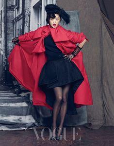 Jeon Ji Hyun - Vogue Magazine September Issue '13