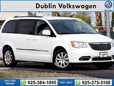 2014 Chrysler Town & Country Touring 46k miles Call for Price 46657 miles 925-384-1095 Transmission: Automatic  #Chrysler #Town & Country #used #cars #DublinVolkswagen #Dublin #CA #tapcars