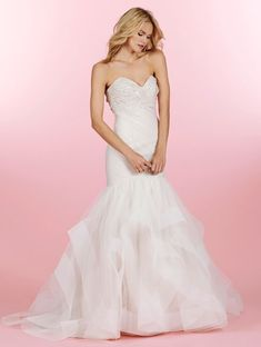 Bridal Gowns, Wedding Dresses by Hayley Paige - Style HP6460