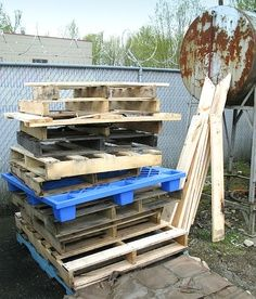 All you ever wanted to know about pallet wood