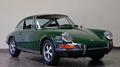 Cars - Previously Sold - Porsche 911 - 1970 Porsche 911S Coupe - Irish Green - California Porsche Restoration