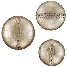 Hammered Discs, Set/3 from Paragon (9776), $587.00
