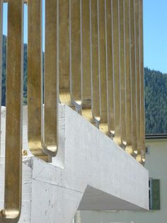 handrail Zernez swiss park center valerio olgiati - Google keresés