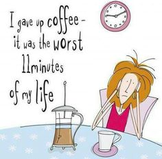 Just say no to no #coffee! #TheDailyGrind