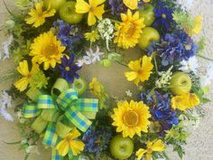 Summer/Spring Sunflowers/Hydrangea