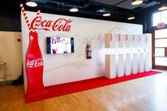 Coca-Cola received the Brand Icon award, a new category, for its creativity in marketing. A display included several styles of bottles that the company has used over the years, vintage Coke commercials, and facts from the 127-year-old brands history.