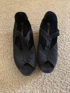 abda225ef59d BM BERNIE MEV Size 37 Woven Open Toe Mary Jane Sandal Shoes  fashion   clothing