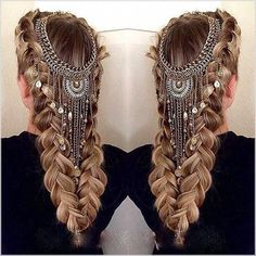 Hair Jewelry Knitting Styles with Hair Accessories, Pretty Hairstyles, Braided Hairstyles, Wedding Hairstyles, Crazy Hairstyles, Formal Hairstyles, Fantasy Hairstyles, Medieval Hairstyles, Hot Haircuts, Romantic Hairstyles