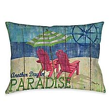 image of Another Day in Paradise Indoor/Outdoor Throw Pillow
