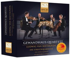 "Gewandhaus Quartett Beethoven: ""The String Quartets"" Box Set 10 CD"
