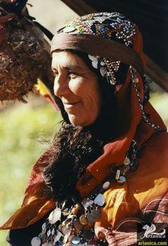Old Bakhtiari Nomad Woman.