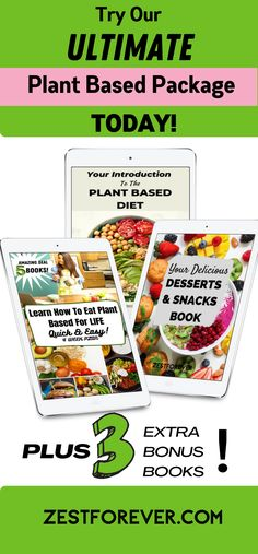 Are you a busy person who needs fast & easy plant based meals that you can be sure are nutritionally complete & always 100% delicious? Do you struggle with coming up with new & inventive dishes that you won't get bored of? Then our dietitian approved 4 week meal plans will teach you everything you need to know to become a plant based chef in your own kitchen. Come ALIVE with the Plant Based Diet! Currently running with 3 FREE Bonus Books! #mealplans #plantbasedrecipes #plantbaseddiet Plant Based Meal Planning, Plant Based Eating, Plant Based Diet, Plant Based Recipes, Healthy Habits, How To Stay Healthy, Healthy Food, Vegan Kitchen, Kitchen Tips
