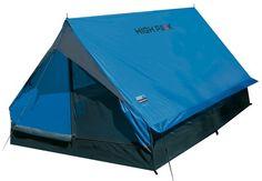 High Peak Minipack - Lichtgewicht Tent - 2-Persoons - Blauw