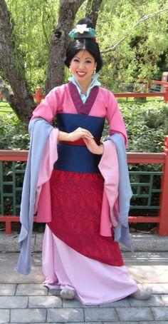 DIY Mulan Costume | view original image )