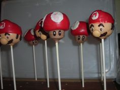 Super Mario Theme Party Crafted by: ~Cake Pops By AJ~