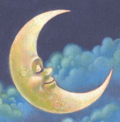 Trendy man on the moon art for kids la luna Moon Images, Moon Photos, Moon Pictures, Sun Moon Stars, Sun And Stars, Look At The Moon, Man On The Moon, Cresent Moon, Vintage Moon
