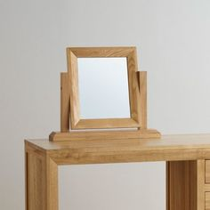 Bevel Dressing Table Mirror in Solid Oak Dressing Table With Stool, Dressing Table Mirror, Dressing Tables, Dressing Room, Oak Furniture Land, Bedroom Furniture, Wrought Iron Patio Chairs, Patio Chair Cushions, Solid Oak