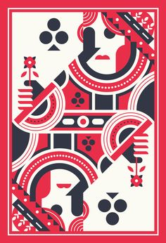 Illustrations by justin mezzell in arts playing cards игральные карты, граф Playing Cards Art, Vintage Playing Cards, Poster Design, Design Art, Graphic Design, Gig Poster, Art Graphique, Retro Art, Deck Of Cards