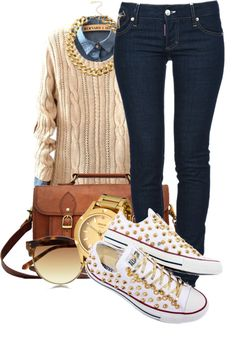"""College Looks."" by snake-biter ❤ liked on Polyvore"
