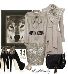 """""""On the Prowl"""" by fiona-stanley ❤ liked on Polyvore"""