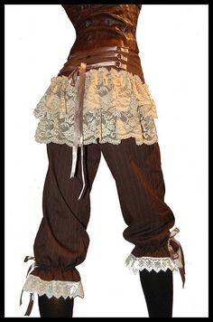 Love these bloomers by Lovechild Boudoir.  Might be an alternate idea to a traditional victorian librarian.