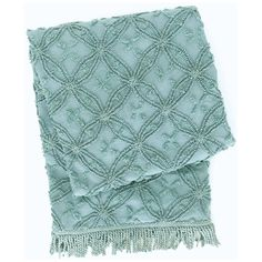 Pine Cone Hill Candlewick Mineral Throw Blanket. #laylagrayce #holidaygiftshop $134.00