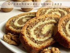 Sweet Recipes, Healthy Recipes, Polish Recipes, Polish Food, Cake Cookies, Baking Recipes, Banana Bread, Sweet Tooth, Food Porn
