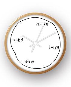 "10"" Ish Wall Clock & Reviews | AllModern"