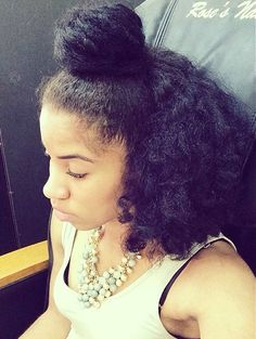 long natural hair  Naturally Fierce Feature: Alondra uncategorized naturally fierce features natural hair features
