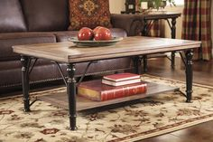 $251, Tripton Rectangular Cocktail Table by Signature Design from mmfurniture, Sku: T569-1