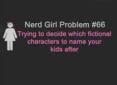 Yep, definitely a problem. (Charlotte Jane!)