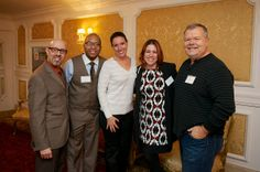 Some of our Pros mixing & mingling with Education Guru Alan Berg at WeddingWire Mix & Mingle Long Island