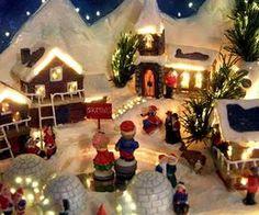How to Build a Christmas Village Platform