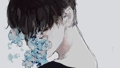 anime, beautiful, and crying kép
