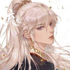 Anime Oc, Anime Angel, Fantasy Art Men, Shall We Date, Blonde Guys, Handsome Anime Guys, Beautiful Anime Girl, Boy Art, Character Illustration