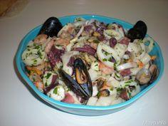 Insalata di mare, scopri la ricetta: http://www.misya.info/ricetta/insalata-di-mare.htm