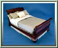 Miniature Custom Sleigh Bed