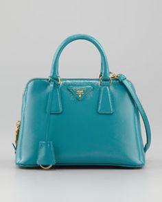-4AUZ Prada Saffiano Mini Promenade Bag