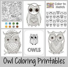 Good Night Owl Activity Ideas Plus Printables Letter O