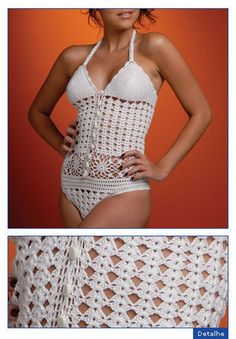 Crochet Swimsuit, with full pattern ~ Bodice Reference http://www.webkadin.com/orgu/mayo_7.jpg http://www.webkadin.com/orgu/mayo_7a.jpg