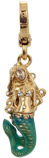 juicy couture mermaid charm Juicy Couture Charms, Decorative Bells, Jewelry Accessories, Pandora, Mermaid, Bling, Charmed, Mini Mini, Deep Sea