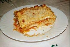 Vegan Vegetarian, Vegetarian Recipes, Vegas, Hungarian Recipes, Veggie Dishes, Gluten Free Recipes, Lasagna, Carne, Casserole