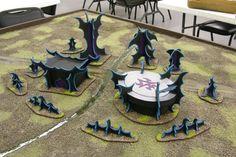 Warhammer 40,000, Warhammer 40k, Warhammer Fantasy, Dark Elf, Dark Eldar, terrain, terrain table